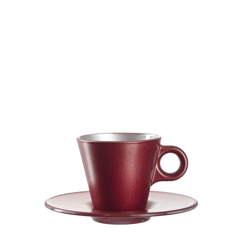 Espressotasse Ooh Magico Rot Metallic – Bild 2