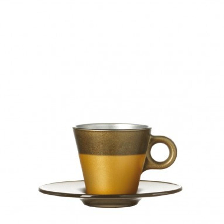 Espressotasse Ooh Magico Gold Metallic – Bild 2