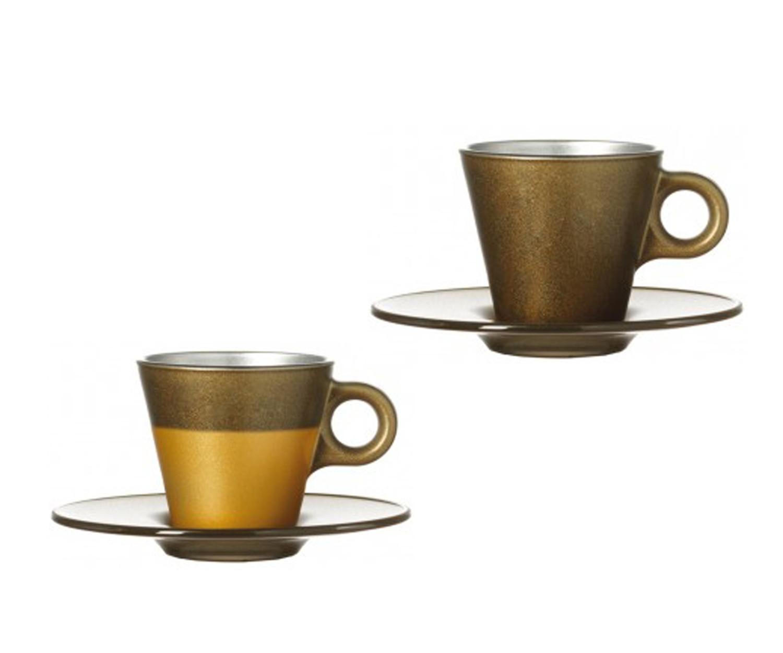 Espressotasse Ooh Magico Gold Metallic – Bild 1