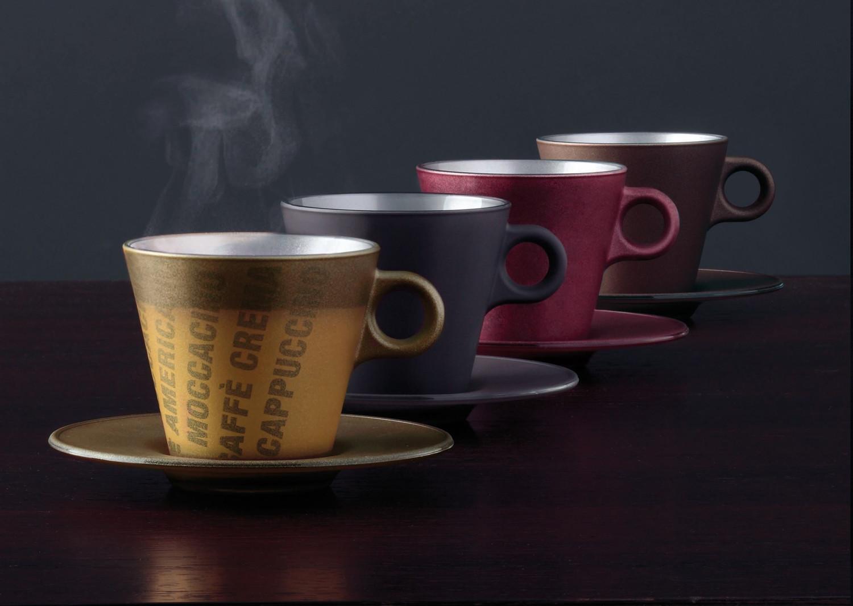 Espressotasse Ooh Magico Gold Metallic – Bild 4