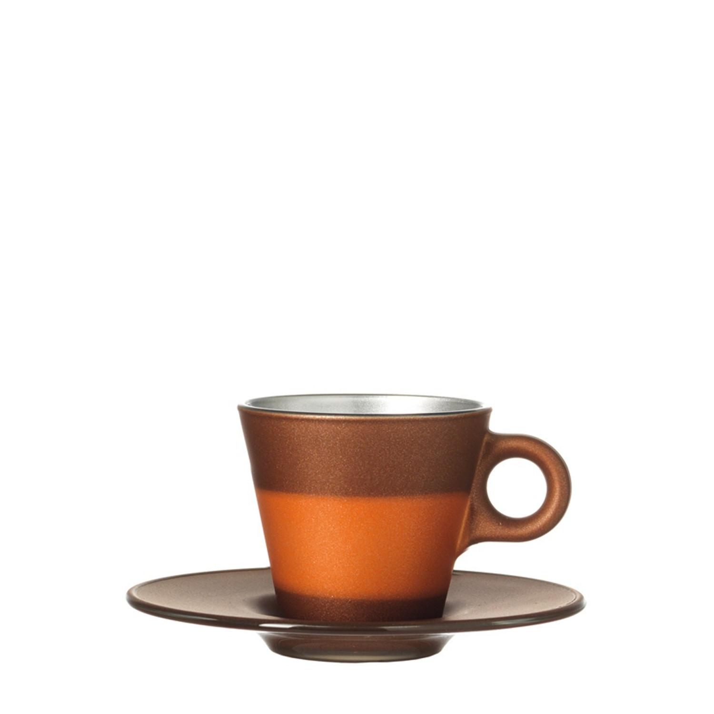 Espressotasse Ooh Magico Braun Metallic – Bild 3