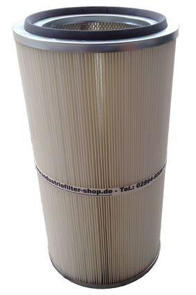 Filterpatrone DIN open/closed 325 x 600 mm Longlife-Mischgewebe – Bild 2