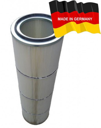 Filterpatrone DIN open/closed 325 x 1200 mm Polyester mit PTFE-Membrane – Bild 1