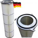 Filterpatrone Flansch 5 325 x 1000 mm Polyester/PTFE 001
