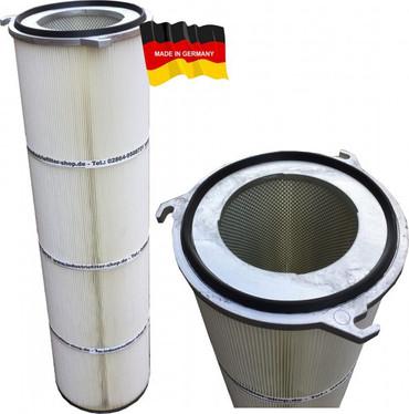 Filterpatrone Flansch 4 325 x 600 mm Polyester/PTFE/Alu