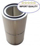 Filterpatrone DIN open/closed 325 x 660 mm Polyester/PTFE Import 001