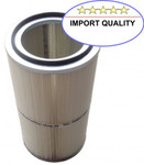 Filterpatrone DIN open/closed 351 x 600 mm Polyester Import 001