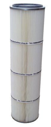 Filterpatrone für Kemper Absauganlagen 352 x 1200 mm Polyester mit PTFE-Membrane Import – Bild 2
