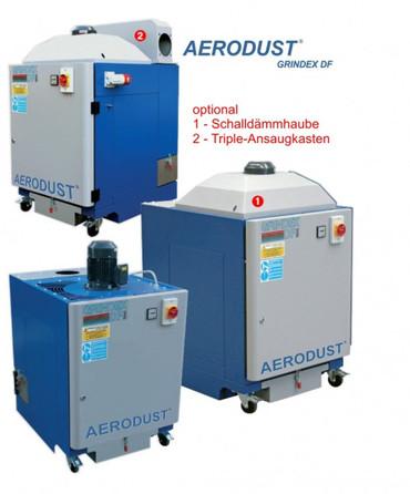 Mobile Absauganlage GRINDEX DF2 1,1 kW