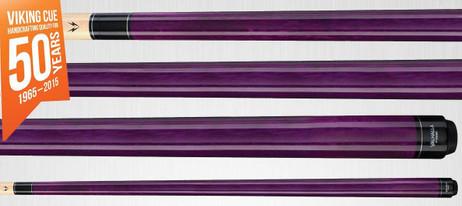 VA107 Purple Stain Pool Billard Queue, Billardqueue Valhalla by Viking
