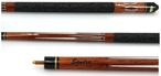 Tycoon, engraved Pool - billiard cue with engraving, idea for gift, brown colour 001