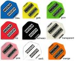 Pentathlon Flights HD 150 Standard transparent Dart Flights, 3er Set