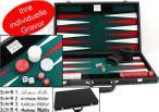 Großer Backgammon Turnier Koffer Edle Ausführung mit Gravur, Geschenk Idee