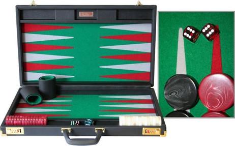ACE POINT 05 Backgammon, Handarbeit Made in Germany