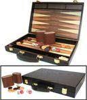 SYROS Backgammon case form walnut