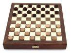 Schach - Backgammon - Dame 10x10 Spiele - Kassette mit Intarsien Bild 3