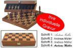 Engraved Chess Case, idea for gift