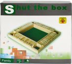 SHUT THE BOX for 4 players, 10-shut variation, 1 - 10, dice game Image 3