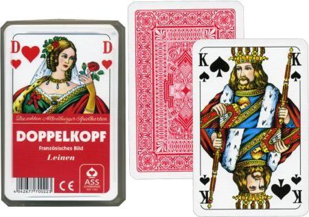 DOPPELKOPF Karten ASS Leinen - Qualität Spielkarten
