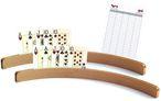 Holz - Kartenhalter, 50cm (ohne Spielkarten) - Zweierpack