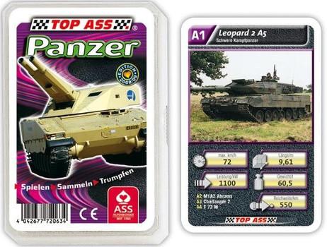 Panzer - Powerpacks Quartett TOP ASS 72063
