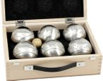 OBUT 6-SET, Leisure time Boules in the wood case Image 4