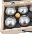 OBUT K8, 8 Boule Kugeln MADE IN FRANCE, Geschenk Idee- Holzkoffer mit Gravur Bild 4