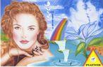 Paradiesische Liebe, 67,5 x 44,1 cm