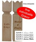 KUBB the Swedish trend game with engraving, quality Made in Italy Image 2