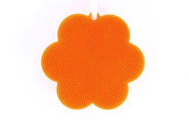 SWISCH Silikonschwamm Reinigung und Fusselbürste Kochblume – Bild 6