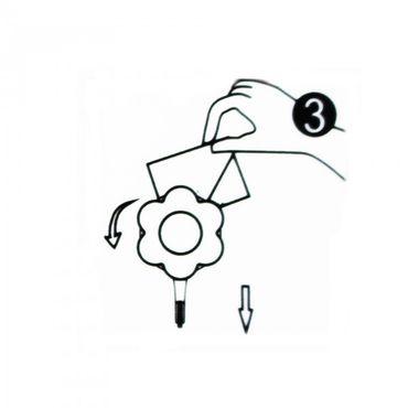 Kochblume Flower-Power-Haken klein – Bild 13