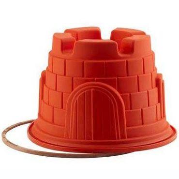 Rapunzel Turm - Ø 20 cm - 2,5 Liter - grosse Backform aus Silikon – Bild 1