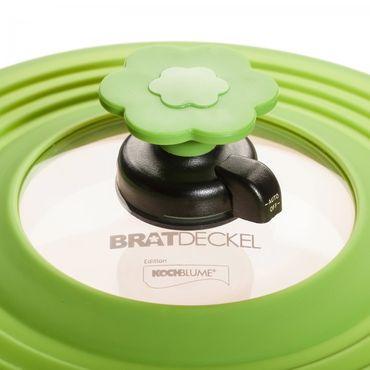 Kleiner Bratdeckel / Bratendeckel Edition Kochblume - Spritzschutz – Bild 3