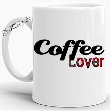Caffee Lover Tasse