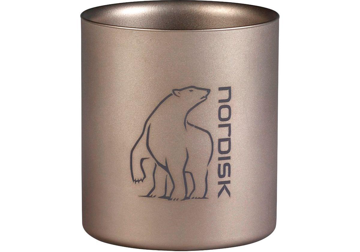 NORDISK - Titanium Mug  - Titanbecher in 2 Größen