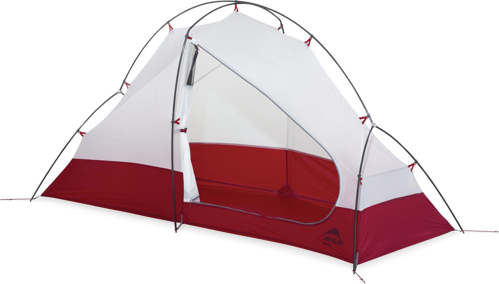 MSR - Access 1 - Zelt für Sommer & Winter für eine Person *inkl. Footprint* – Bild 7