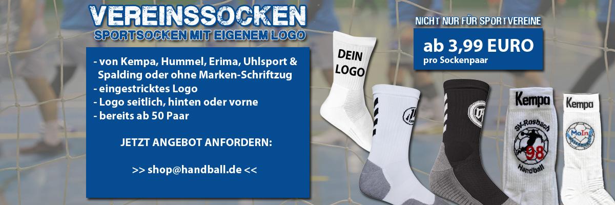 Vereinssocken mit eigenem Logo