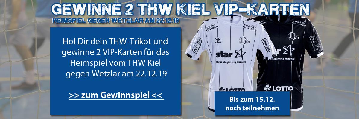 Gewinnspiel THW Kiel VIP-Karten