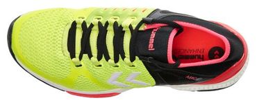 Hummel Handballschuh AEROCHARGE HB 200 Safety Yellow / Black – Bild 2