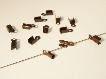 Klemmbleche, Verbinder, 9x3mm, Kupfer, 20 Stück #Z123
