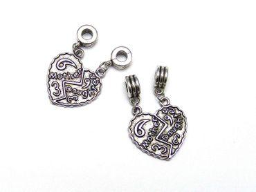 Anhänger Charms Love 39x25mm Silber #U175