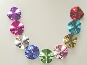 Acryl Perlen Mix, Blume, 5 Stück #K19567 – Bild 2