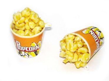 Anhänger Popcorn Becher Oktoberfest Wiesn Scherzartikel 5x4 cm #K20101