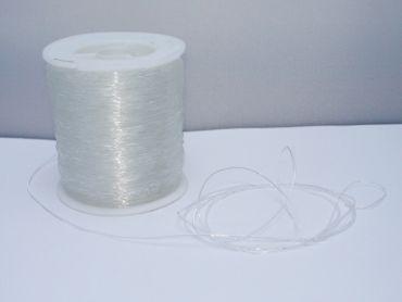 Elastikband Elastikfaden Fädelmaterial, 0,8mm, Stretch transparent, 5 Meter #EB08