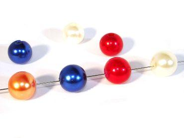 Acryl / Kunststoff Perlen Mix, Kugel, 10mm, 20 Stück #K115