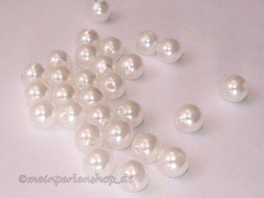Wachsperlen, Tischdeko - Hochzeit, 6mm, Weiß, 200 Stück #K05233