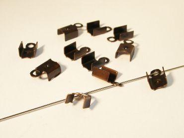 Klemmbleche, Verbinder, 10x5mm, Kupfer, 20 Stück #Z133