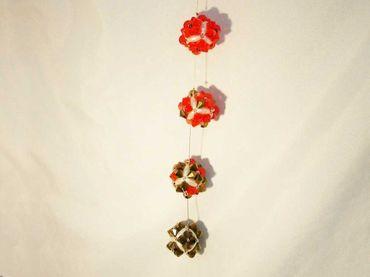 Swarovski® Perlen, 4mm, Bicone, light peach, 50 Stück #SW57 – Bild 2