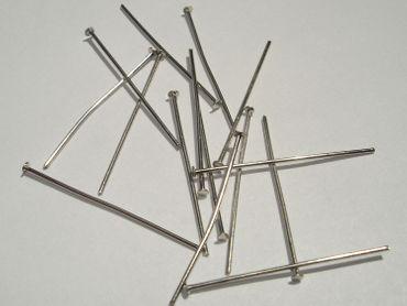 Nietstifte Kettel- Prismenstifte 30mm silber 50 Stück #Z205