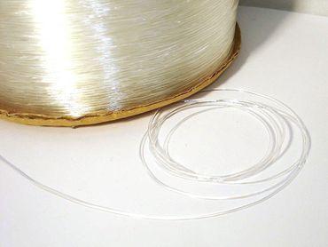 Elastikband Silikonband Transparent 5 m EB-VA – Bild 1